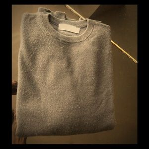 Zegna luxury black crew neck sweater